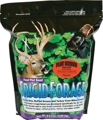 Hunting Hide your food plot from prying eyes with this tall, thick blend of sorghums and Egyptian wheat that can reach more than 12-ft. high. Plant in custom shapes to fit specific scenarios for creating an ideal natural screen. The varied plant heights in this blend will help the screen stand up to the high wind and snow that Mother Nature likes to throw at us each year. Grows in almost any condition. Plant in late spring or early summer. Prefers full sun and moist, well-drained soil. Available: 8.5-lb. bag plants 1/2 acre. - $49.99