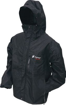 Constructed with ultradurable DriPore, a waterproof, breathable, microporous film combined with a nonwoven inner layer. The Frogg Toggs Mens ToadRage Jacket features fully sealed and taped waterproof seams, zippered front closure, chest storage pockets and handwarmer pockets, dual storm flap and hook-and-loop closure, adjustable elastic cuffs, hood with drip-free visor and elastic waistband with shock-cord and dualcord locks. Imported. Sizes: S-2XL. Colors:Dusty Blue/Black, Stone, Black/Green. Size: X-Large. Color: Dusty Blue/Black. Gender: Male. Age Group: Adult. Type: Jackets. - $69.99