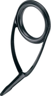 Fishing Sturdy, corrosion-resistant, black stainless steel frames support smooth Alconite rings. They feed and retrieve line smoothly across an abrasion-resistant surface and help minimize tangles. Imported. Sizes: 12, 16, 20, 25. Size: BKLAG12C. Color: Black. Type: Guides. - $4.39
