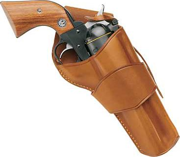 Galco ''Model 1880's'' Cowboy Leather is reminiscent of rigs worn in american westerns. The model 1880's Crossdraw Holster has the same top-grain premium tan saddle leather as the strongside model in a crossdraw design. Sizes: 4-3/4 , 5-1/2 . Size: 4 3. Color: Tan. Gender: Male. Age Group: Kids. Type: Cowboy. - $109.99