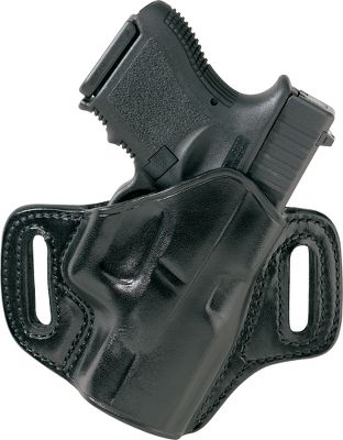 One of Galcos most distinctive, innovative and effective holsters for concealed carry. It sports a sturdy two-piece construction with the body side contoured to the natural curve of your hip and the outside custom-contoured to your handgun. The result is comfortable all-day carry and an overall narrower profile than conventional unshaped holsters. Deeply molded saddle-leather construction for superb retention and angled for optimal draw efficiency. Double-stitched seams for enhanced durability. Covered trigger guard enhances safety. Fits belts up to 1.5. Made in USA. Color: Natural. - $109.99