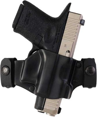 Lightweight, comfortable and made of rugged, nearly maintenance-free molded thermoplastic, the M7X is an effective minimalist design that offers speedy draws and discreet concealed carry. A strong-side belt holster with a butt-forward angle, the open top makes for fast, smooth access while enhancing concealability. Patent-pending removable snap-on belt loops set it apart from other holsters in its class by allowing convenient removal of the holster without having to remove your belt. Molded to fit specific semiautomatics, lateral tension secures your firearm when worn. Made in USA. - $29.99