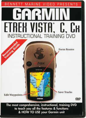 Camp and Hike Learn how to operate your Garmin eTrex Vista C GPS with this instructional DVD. DVD goes through the features of the unit step by step. 44 minutes. - $10.88