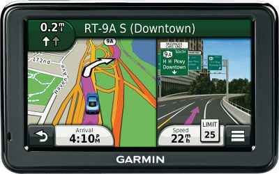 Fitness With a bright, clear, color touch screen and powerful navigation features, this GPS unit will help you reach your destination and avoid delays. Gives you turn-by-turn directions with voice prompts. Pre-loaded with maps for North America that include more than eight million points of interest. Enjoy free lifetime traffic updates from 3-D Traffic, Garmins most extensive traffic-avoidance system. Receive free lifetime map updates up to four times a year for life with no subscription fees. Equipped with photoReal junction view in select metro areas to help you get into the correct lane to avoid last-minute cuts across traffic. Where Am I? emergency locator gives your exact location and directions to the nearest emergency services. Rechargeable lithium-ion battery provides up to 2.5 hours of run time or run the unit using your 12-volt vehicle power port. Accepts a micro SD card (not included) to augment internal solid-state memory. Comes with a vehicle power cable, suction-cup mount, USB cable and manual. 4.3-diagonal WQVGA color TFT display. Dimensions: 2.9H x 4.8W x .6D. Weight: 5 oz. Color: Clear. - $64.88