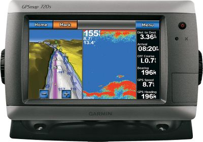 "Camp and Hike The 720s stand-alone touch-screen sonar/chartplotter puts all the information you need at your fingertips. Unit is pre-loaded with a worldwide basemap and accepts additional map data via the built-in SD card slot. Internal high-sensitivity GPS receiver delivers superior satellite tracking and quick acquisition times. Powerful 1kW capable sonar transceiver. Waterproof to IPX7 standards. NMEA 0183 compatible and NMEA 2000-certified. Built-in radar port. Includes bail mount with built-in cable management; flush-mount gasket and hardware; power/data/sonar cable; and protective cover. Dimensions: 5.6""H x 8.8""W x 3.1""D. - $1,249.88"