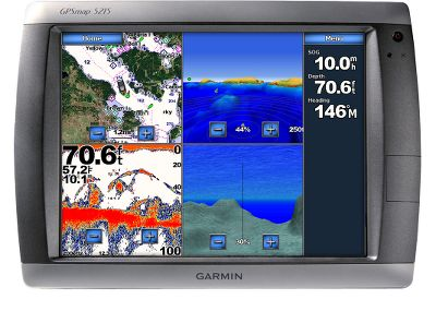 "Camp and Hike The largest network plotter display in the Garmin marine line. Pre-loaded BlueChart g2 maps of the U.S. coast and huge 15"" touch screen makes on-the-water navigation as easy as pointing your finger. When connected to the Garmin Marine Network, you can add sonar, radar and weather. Also comes pre-loaded with a worldwide basemap and accepts additional map data via the built-in SD card slot.Dimensions: 11.7""H x 15.5""W x 5.7""D.Display size: 9""W x 12""H, 15"" diagonal.Display resolution: 1,024 x 768 pixelsWeight: 11.9 lbs.Features:Waterproof to IPX7 standardsHigh-sensitivity receiverExternal antennaNMEA 0183, NMEA 20001,500 waypoints/favorites/locations20 routesTrack log: 10,000 points with 20 saved tracksGarmin radar compatibleGarmin sonar compatibleGarmin Marine Network compatibleTouch screenSupports AIS (tracks target ships position)Supports DSC (displays position data from DSC-capable VHF radio)Audible alarmsTide tablesSun and moon information 3-D map view with optional BlueChart g2 Vision cardAuto guidance with optional BlueChart g2 Vision cardXM WX Weather and Radio for U.S. and CanadaAudio/video input/outputThree built-in network portsFour NMEA 0183 inputsTwo NMEA 0183 outputsNMEA 2000Two video inputs for onboard camerasOne XGA PC monitor video outputIncludes: GPSMAP 5215 GPS 17x antenna Protective front cover Top and bottom snap covers Video cable assembly Power cable assembly NMEA0183 cable NMEA 2000 drop cable NMEA 2000 power cable NMEA 2000 T-connector and terminator kit Flush mount hardware Flush mount gasket Marine grommet kit Manual case with owners manual Quick reference guide Installation instructions - $5,249.99"