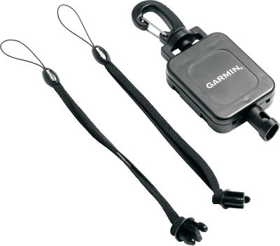 Camp and Hike Always keep your Garmin GPS nearby with this convenient accessory. Retractable lanyard base clips onto belt loops, backpacks and more, ensuring your GPS unit doesnt get lost while hiking. - $19.99