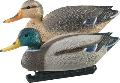 "Hunting These classic Mallard decoys are 18"" long and made from specially treated high-impact plastic for maximum paint adhesion. They are then hand-painted with natural colors that will bring in birds and impress you with legendary Gquality. Per 12. - $124.99"