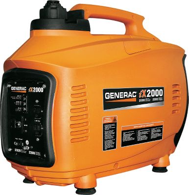 Fitness Heres your chance to save on Generac portable generator demo models that have been personally inspected by Cabelas staff. Each unit has been started and tested for output to ensure operation within specified parameters. Smaller, lighter and quieter than other models in this class, Generacs inverter technology gives these units high power-to-weight ratios. A special electronics filter lets you run radios, televisions and computers interference-free. Two-mode FlexPower features a high mode for heavy loads and a whisper-quiet, fuel-saving economy mode. Anti-vibration mounts reduce noise and eliminate generator movement while under load. An electronic overload-protection breaker protects outlets and appliances. A low-oil shutdown guards the four-stroke OHV engines from damage. Available: 800 watt, 2,000 watt.Item note: Before ordering please research potential power needs to ensure you select the appropriate size generator. Due to the nature of this product, returns cannot be accepted. All of these generators we personally started and checked for output. - $479.99