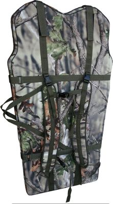 Hunting Custom fit to carry and protect your GhostBlind Predator. Zip up bag with adjustable shoulder harnesses. Durable, water-resistant and padded fabric with the GhostBlind Camo Pattern. Pocket on back for your tent stakes tie down strings. Attach your existing back pack, chair and all your gear to back of bag. Keeps your hands free to hunt in and out of the woods. Fits GhostBlind Predator (4 panel blind). Includes: Bag, Adjustable shoulder harness, and Hardware. Color: Camo. - $99.99