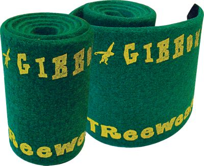 Camp and Hike A great addition to any Gibbon Slackline, Treewear is made of special felt to protect trees and slackline. Each 39L x 6W strip fastens easily to trees and posts up to 36 in circumference and can be linked to fit larger trees. Imported. Per 2. - $17.88