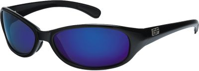 Fishing These sporty and durable polarized sunglasses improve your visual performance when youre out on the water reeling in a big one. The Diamond Hard polarized finish gives the lenses durability while eliminating glare and blocking 100% of UVA/B/C rays. The lenses are shatter-resistant with a scratch-resistant coating. Limited lifetime warranty. Size: One Size. Color: Matte Black. Gender: Male. Type: Polarized. - $24.99