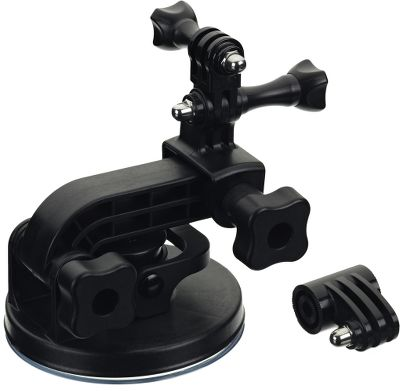 Entertainment Attach your GoPro to vehicles with this industrial-strength suction-cup mount. Proven to hold at speeds over 150 mph. Includes a short extension arm for ultracompact mounting. Compatible with all GoPro cameras. - $19.88