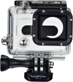 Entertainment Simple and sleek low-profile mount for your GoPro3 camera. Engineered for excellent sound quality at high speeds. Compatible with LCD Touch BacPac 40 oz. and Battery BacPac. Mount is not waterproof, and is not designed for extremely dusty environments. Includes standard frame, BacPac frame, protective lens cover, mounting hardware, one flat adhesive mount and one curved adhesive mount. Type: Action Camera Accessories. - $39.99