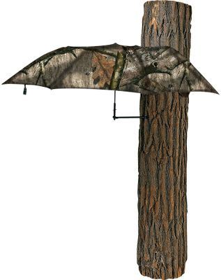 Hunting Water-resistant polyester shell keeps you out of the weather. Portable, compact and lightweight protection. Easy setup and takedown. Can also be used as a ground-blind shield. Stows away in an easy-to-carry bag. Diameter: 54''. Weight: 1.5 lbs. Camo pattern: Mossy Oak Treestand . - $29.99