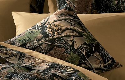 Entertainment With a vivid design by a renowned wildlife artist, our exclusive Seclusion 3D camo pillows are a welcome addition to any sportsmans bedroom. Made of a 65/35 polyester/cotton blend. Backing is a 180-thread count, 50/50 polyester/cotton. Dry-clean only. Imported. 18 x 18. Camo pattern:Cabelas Seclusion 3D. Color: Seclusion 3D. Type: Decorative Pillows. - $19.99