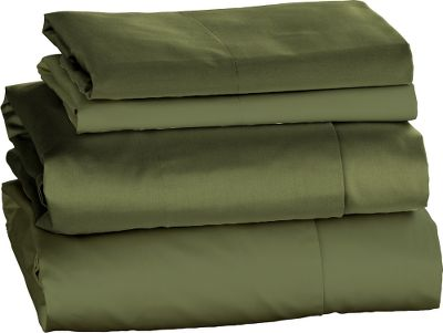 Entertainment Luxury awaits in the form of ultrasoft comfort with these 400-thread-count, 100% cotton sateen sheets. Each set includes a flat sheet, fitted sheet and pillowcases in attractive solid colors. Machine washable. Imported. Available: Full: Flat Sheet 81 W x 97 L, Fitted Sheet 54 W x 75 L, Pillowcases Two Standard 21 x 30 . Queen: Flat Sheet 90 W x 102 L, Fitted Sheet 60 W x 80 L, Pillowcases Two Standard 21 x 30 . King: Flat Sheet 108 W x 102 L, Fitted Sheet 78 W x 80 L, Two King Size Pillowcases King 21 x 40 . Colors: Cream, Mocha, Coffee, Sage. Size: FULL. Color: Mocha. Type: Sheet Sets. - $79.99