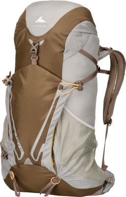 Camp and Hike A durable, fully featured pack built specifically for light, fast hiking pursuits. The Fury 32 completely eliminates the need for a stay by utilizing the Flexible Transfer System (FTS) it incorporates an active, breathable suspension for optimal weight balance and load-bearing comfort. A breathable harness and waistbelt boast mesh channel ventilation to keep you cool when the weather or activity heats up. Anatomical, contoured mesh back panel provides breathable support and stability for high-speed hikes. Flexible shoulder straps and waistbelt deliver unrestricted movement. Ample pockets for storage and organization include: shoulder-strap stash pockets; a top-loading main access pocket; top pocket with internal security compartment; and dual front stretch bucket pockets. Dual tool/axe/trekking attachment points. Cross-elastic hydration tube container. Aluminum strut above the harness activates lifters on packs 30 liters and over. Constructed of weather- and tear-resistant 210 Dynajin and 420 nylon. Imported. - $109.88