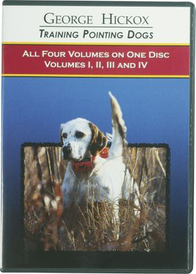Hunting Let George Hickox guide you through the steps in training your pointing dogs in this four-volume DVD collection. Each step follows a natural course in this easy-to-follow training system. Total run time of 110 minutes. Color: Natural. Type: Dog Training DVDs. - $34.88