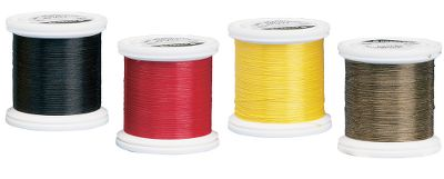 Flyfishing If strong thread is what you want, you can't do better. This is the material bulletproof vests are made of. Ideal for tying deer hair bugs, saltwater patterns or anything demanding the toughest thread. 50-yard spools. The KEVLAR Thread Assortment includes one spool each of Black, Red, Yellow and Olive. - $7.99