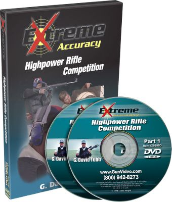 Hunting If you're interested in improving your marksmanship or even becoming a long-range shooter, you couldn't find a better selection of training and informational DVDs. Available: Extreme Accuracy High Power Rifle Competition G. David Tubb, one of the most successful competition rifle shooters ever, shows you techniques that have elevated him to the top of the sport. 120-minute two-DVD set. Extreme Accuracy Understanding Scopes and Ballistics Increased knowledge of equipment and ammunition will make you a better shooter. Extreme Accuracy Tactical Sniper Shooting G. David Tubb demonstrates shooting positions, revolutionary sling techniques and equipment needed for pinpoint accuracy when it's needed most. Extreme Accuracy The One Mile Shot Lucky shot you say? Not when you see G. David Tubb do it again and again. Watch what you need to know to hit targets from 1,000 yards to a mile out. 90-minute DVD. Extreme Accuracy Long-Range Rifle Shooting Learn how to make the long shots in real field conditions from champion rifleman G. David Tubb. He offers tips on learning how your equipment and ammo work at longer ranges. 80-minute DVD. - $14.88