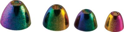 Flyfishing Add a tantalizing rainbow of colors to your favorite cone patterns. Per 20. Sizes: 1/4, 3/16, 5/32, 7/32. Color: Rainbow. Size: 3. Color: Rainbow. Type: Heads. - $5.49