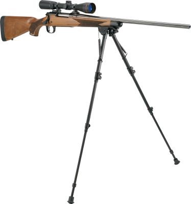 The Harris Ultralight is at home on the range as it is in the field. Five models to choose from depending upon the activity pursued. All secure to the rifle via the sling stud and will not mar or scratch the rifles finish. After use they fold up unobtrusively under the barrel where they remain out of the way but still instantly accessible when needed. Height: 6-9 , bench or pistol 9-13 12-25 13-1/2 to 23 13-1/2 to 27 - $89.99