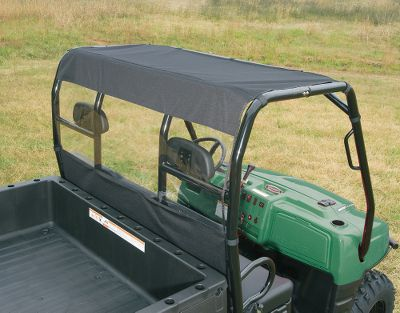 Cut the wind and dust in the cab of your UTV by protecting yourself from the top and rear. Made of rugged 600-denier polyester with a clear acrylic rear window. Made in USA.Color/Camo patterns: Black, Mossy Oak Break-Up Infinity, Realtree MAX-4. Year: 09-12. Type: UTV Roof Cap Combo. Model: 1140 CPX. Make: Kubota. Color/Camo Pattern: Black. Year/Make H164kb3. Color Black. - $69.99