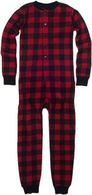 Hunting Keep your little one warm with a classic union suit. Made of 100% cotton, this soft, cozy suit is perfect for those days when extra warmth is needed. Button front with button drop seat in back. Imported. Sizes: 6, 8.Colors: Bear Bum, Moose on Plaid. - $26.99