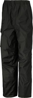 Guns and Military When wet weather turns torrential, youll need the 100% waterproof protection of Helly Hansens Cargo Pants. Water rolls off the shells seam-sealed 100% nylon two-ply Helly Tech fabric. The polyester mesh and taffeta lining offers inner comfort. Articulated knees deliver freedom of movement. 13 leg zippers and dual-snap adjustable cuffs accommodate boots. Comfortable elastic waistband with adjustable drawcord. Pants pack into waterproof cargo pocket on right thigh. Blood-bourne pathogen tested. Imported. Sizes: XS-4XL. Colors: Black, Navy Blue. - $74.00