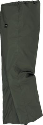 Helly Hansen Flekkefjord Pants boast a thick .35mm PVC coating on midweight polyester for 100% waterproof protection at a great price. Cold- and mildew-resistant for exceptional job-site durability. Drawcord-adjustable waist. Take-up snaps at the hem. Imported. Sizes: XS-4XL. Colors: Army Green, Light Yellow. - $30.00