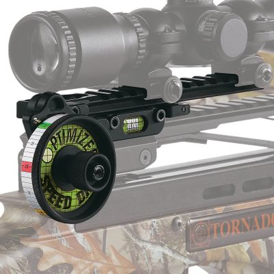 Hunting HHA is renowned for quality single-pin bow sights, and now it brings that proven technology to crossbow shooters. This device uses your existing scope or red-dot sight, along with the patented Speed Tape System, to provide unparalleled accuracy. Crafted of CNC-machined aluminum, this 7-oz. system is capable of helping you shoot 2 groups at 60 yards! You just sight in at 20 yards and 60 yards, select a provided Speed Tape customized to your bolt velocity and trajectory, and you'll be able to dial in shots from 20 to 80 yards consistently. Fits most popular crossbows that shoot at speeds from 260 to 410 fps. Easy two-bolt installation. Color: Black. Type: Sighting-In-Aids. - $209.99