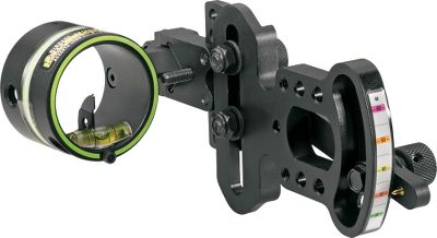 Hunting HHAs OL-5019 Bow Sight features a movable vertical pin that locks down when you need it to stay put, yet is easy to slide when you need to dial in on a precise range. Excellent for target shooters and hunters alike, it boasts 3 ft. of wrapped .019 fiber-optic material that gathers as much light as possible so the pin is easy to see when youre shooting in difficult low-light conditions. Tough, lightweight CNC-machined-aluminum construction with vibration-resistant cap screw and windage lock. Smooth elevation hinge with easy-access knob. Manufacturers lifetime warranty. Made in USA. Available: Right Hand, Left Hand. Color: Black. Type: 1-Pin Sights. - $129.99