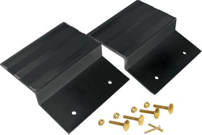 Build your own easy-to-use ATV loading ramps with this kit. All you add is the 2 x 8 planks (not included). Kit consists of two extra-strong ramp tops made of steel that is specifically designed to give you maximum hold on any surface. Offers smooth, easy ramp access. Assembles in minutes. All hardware for assembly is included. - $24.99