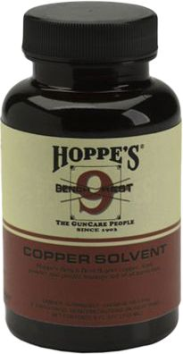 Clean copper-fouling from your bore overnight. You don't have to wait three or four days for results anymore. This safe and rapidly effective formula contains no abrasives that can harm your barrel. It also quickly removes powder, lead and plastic from all types of firearms. Size: 5-ounce bottle. Color: Copper. - $9.99