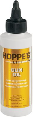 This highly effective lubricant removes fouling from the pores in your firearm. Non-toxic, Elite Gun Oil keeps dirt and contaminants away from moving parts. Size: 4-oz. - $11.99