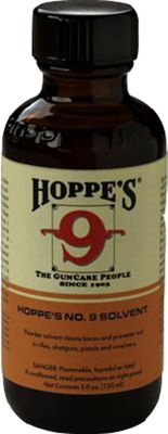 Hoppe's No. 9 remains the most widely used remover of powder, lead, metal fouling and rust available. The formula penetrates deep and rapidly for faster, easier cleaning jobs. Ultrapotent, safe and easy to use. A worldwide favorite since 1903. Per quart bottle. Color: Rust. - $16.99
