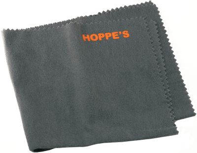 Fishing Properly cleaning and caring for your guns and reels requires special equipment. Hoppe's Silicone Gun and Reel Cloth is made from flannel material and treated with special silicone lubricants for taking care of all your guns and fishing reels. It removes fingerprints and potentially corrosive epidermal oils. These cloths fit easily in your pocket or a fanny pack for use right in the field. All it leaves behind is a beautiful polish with a protective finish. Per each. Type: Cleaning Tools. - $3.99
