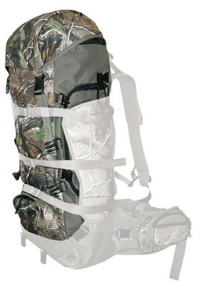 Hunting Attaches to Full Curl frame (sold separately). Exterior gear pockets and 300 cu. in. of packing space make extended backcountry hunts possible. Breathable, washable canvas fabric. Made in USA.Capacity: 300 cu. in. Camo pattern: Realtree APG . - $59.88