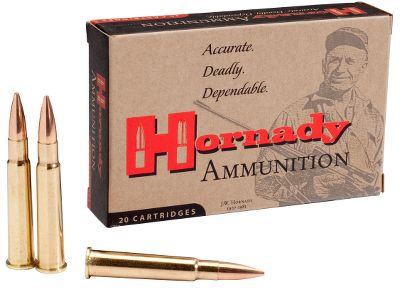 Hunting Loaded to the same standards as Custom Match ammunition and optimized to deliver the best performance from your World War II-era firearm. Hornady Match bullets help you maximize your guns accuracy potential and your shooting enjoyment. Per 20. - $27.99