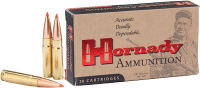 Hunting The .300 Whisper originally garnered a sterling reputation for accuracy and performance as a subsonic load used in suppressor-equipped firearms, but its superior ballistics and deadly accuracy soon found favor among all shooters. Highly efficient, the original Blackout design was based on a .221 Remington cartridge necked up to accept .308 bullets and is now known as a reliable, accurate round for both hunting and target applications. Both loads deliver very low recoil, making them ideal for women and younger shooters. Available in either subsonic 208-grain A-MAX loads or the supersonic 110-grain V-MAX for hunting and plinking. 20 rounds per box. Color: Blackout. Type: Centerfire Rifle. - $23.99