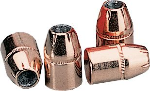 Entertainment These .44-caliber pistol bullets range from a 180-grain through a 300-grain hollow point XTP. Hornadys XTP (eXtreme Terminal Performance) is designed for hunting, personal defense and law enforcement. XTPs are designed to expand with control at a wide range of handgun velocities giving you deep penetration. Precise folds in the no-lead, exposed hollow point strategically weaken the jacket for reliable, uniform expansion at low and high velocities. Type: Handgun Bullets. - $17.99