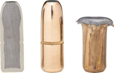 Hunting DGX (Dangerous-Game Expanding) and DGS (Dangerous-Game Solid) bullets are built rugged with copper-clad steel jackets and high-antimony lead cores. These bullets are made to perform in circumstances where failure is not an option. Smooth, flat tips for direct penetration. 400 gr. Per 50. - $42.99