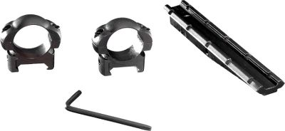 Hunting Its weave-style mount makes it easy to mount a scope on a Horton crossbow. Includes two 1 aluminum rings and a 7/8 dovetail bracket. Compatible with all Horton crossbows and scopes with 1 tubes. - $59.99