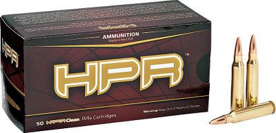 Hunting Loaded with clean-burning powders and primers, these BTHP and V-Max .223 Rem. 75-grain and 60-grain rounds are extremely accurate. Theyre great for varmint hunting. Every round is loaded with once-fired, remanufactured Lake City brass to SAAMI specs and is hand inspected for utmost quality control. All components, including the packaging, are Made in USA. Per 50. - $29.99