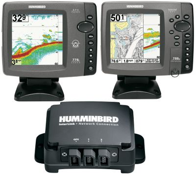 Fishing Fish as hard as you want from the bow to the stern and still be on top of the action below being captured real time with one of these Humminbird Complete Systems that will save you time and effort. The systems come complete with all necessary Humminbird and InterLink Network components so the units work together and communicate with each other right away. This also keeps you from buying a unit with components you may not need. You'll be able to share GPS positions, waypoints and routes between two Humminbird fish finders, and have critical information at your fingertips anywhere on the boat. Daisy chain InterLink with other modules to create a digital network command center. The two systems with 788ci units assume the use of a trolling motor with a built-in transducer (sold separately). For those without a trolling motor with a built-in transducer, select the Humminbird 20/60 DualBeam Transducer (sold separately). 998c Combo includes GPS module.Complete Systems include:Two sonar/GPS units one for the bow and one for the consoleTwo InterLink cables to create digital networking (one 10-ft. cable and one 20-ft. cable)One InterLink network box to share GPS position, waypoints and routes between two Humminbird fish finders in real time. - $1,749.99