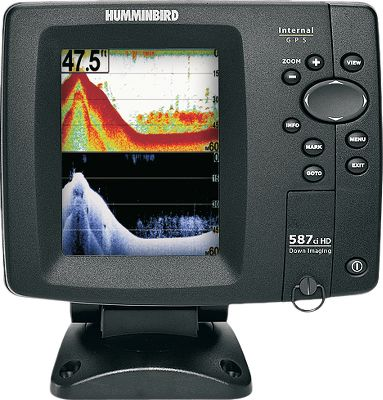 Fishing 4.5 high-definition 640V x 480H color display 2,400-watt peak-to-peak 300-watt RMS power Picture-like Down Imaging sonar imaging Conventional 2-D sonar format Internal GPS antenna Built-in UniMap SD-card slot for Lakemaster or Navionics charts Down Imaging: Sonar Coverage 455 kHz / 75 @ -10db 800 kHz / 45 @ -10db DualBeam Plus: Sonar Coverage 200 kHz / 25 @ -10db 455 kHz / 16 @ -10db Type: Sonar/GPS Combos. - $399.88