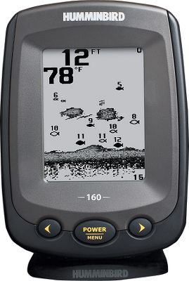 "Fishing One touch. That's all it takes to get easy-access to all the advanced features of the PiranhaMAX Series fish finders Fish ID+, fish alarms, depth alarms, zoom and more. All units feature Humminbird's Tilt Mount and is a drop-in replacement for many factory-installed in-dash mounted fish finders. 4"" monochrome, 160V x 128H resolution display. Dual Beam 200 kHz selectable with 20 and 83 kHz/60 beams. 800-watt peak-to-peak power. - $89.99"