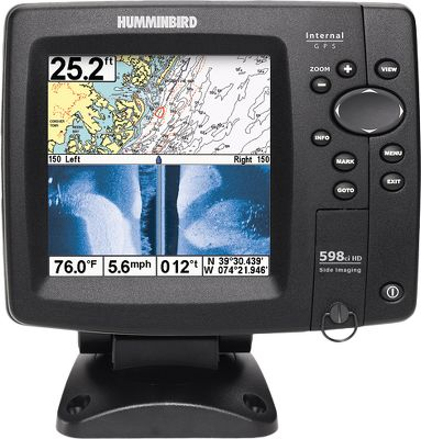 Fishing A bonded-glass screen provides superior clarity for the high-definition display, making it sunlight readable. In-dash mountable. Single SD card slot. Navionics and Lakemaster compatible. Made in USA. Type: Sonar/GPS Combos. 598 Hd Si Combo. - $579.88