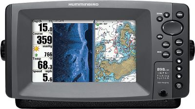 Fishing Spacious 7 screen featuring a 16:9 aspect ratio, delivers crystal-clear image quality. Realize the advantage of Humminbirds Down Imaging, Side Imaging and SwitchFire sonar. Youll be the proud owner of one of the most versatile fish-finding systems on the water. Also has Contour XD, GPS track and chart-plotting. - $1,299.88